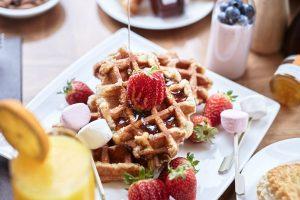 Breakfast shot for Eight Restaurant